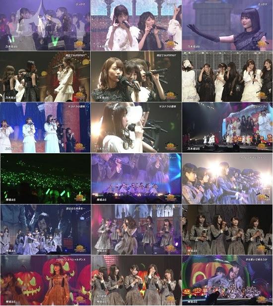 (TV-Music)(720p+1080i) 乃木坂46 欅坂46 Part – 日テレ HALLOWEEN LIVE 2016 161126