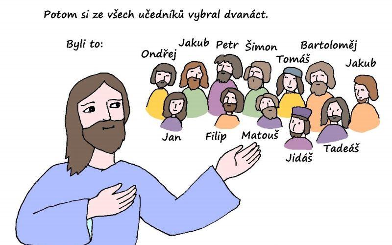 Dětská katecheze: Apoštolové kolem dokola