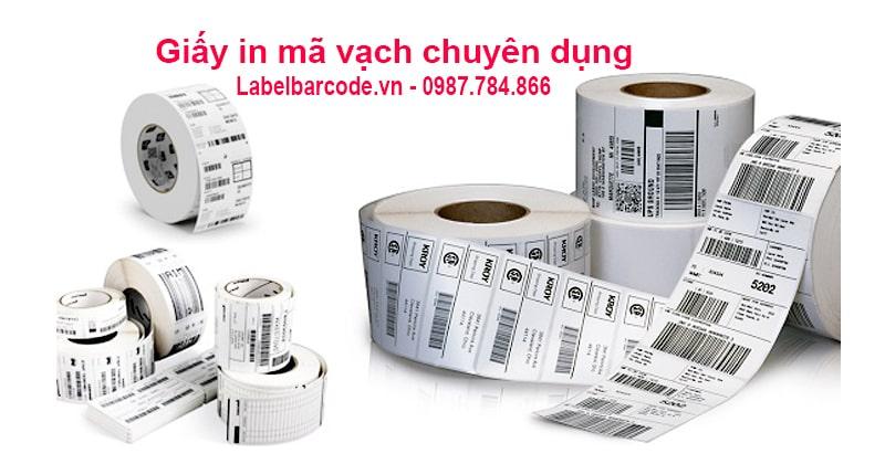 Giấy decal  in tem nhãn mã vạch tại Hà Nội