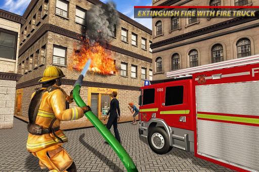 Fire Truck Ambulance Driver: Fire Rescue Games 1.0 screenshots 8