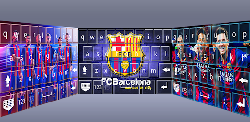 FC Barcelona Keyboard themes app (apk) free download for Android/PC/Windows screenshot