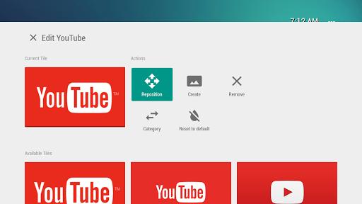 TVLauncher Apk apps 3