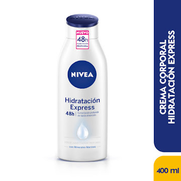 Crema NIVEA x Corporal   Hidratación Express Hydra IQ* 400Ml