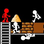 Stickman : Lode Runner