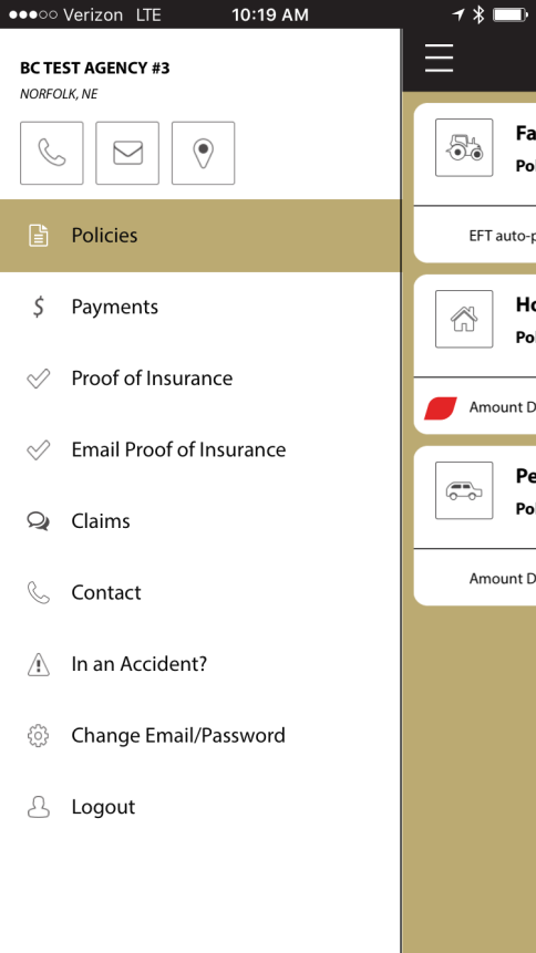 Battle Creek Mutual Insurance- screenshot