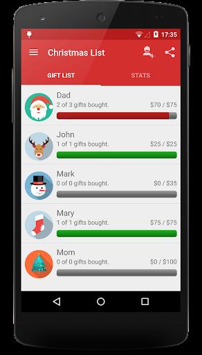 Christmas Gift List 3.0.0 screenshots 1