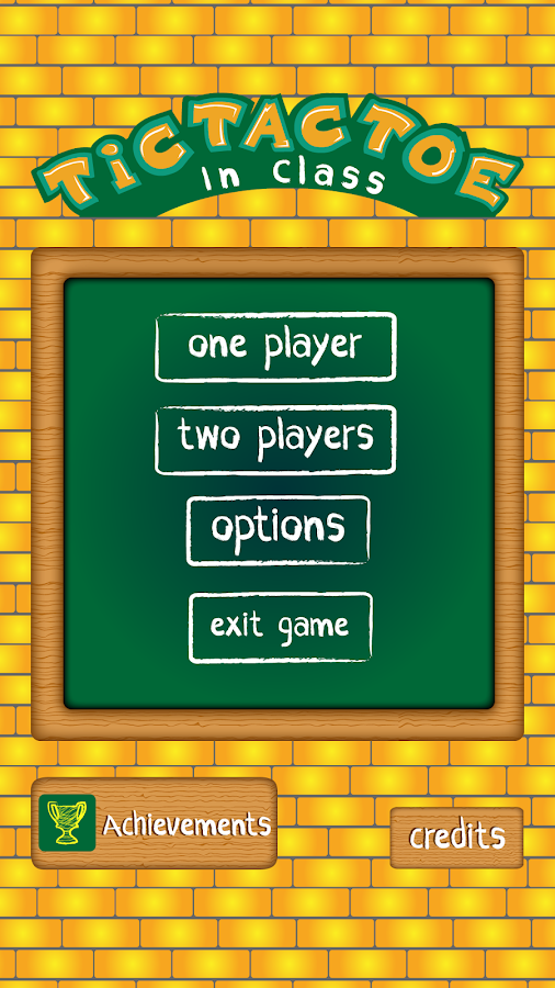 Tic Tac Toe In Class - screenshot