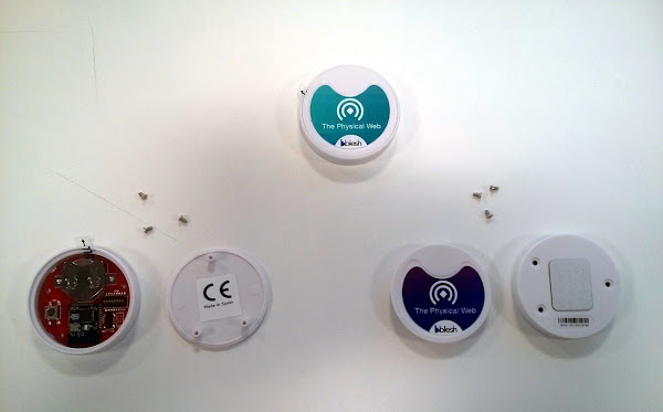 The Physical Web beacons by Blesh