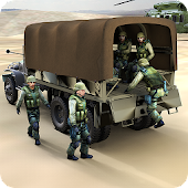 San andreas Army Truck Hero