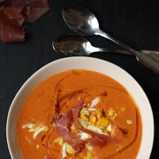 Creamy Spanish Cold Tomato Soup (Salmorejo Cordobes) Recipe