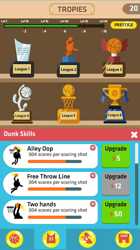 Idle Dunk Masters 1.1.1 gameplay | by HackJr.Pw 6