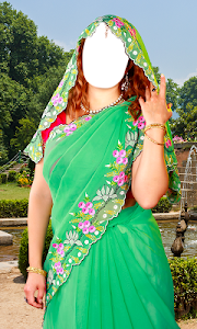 Women Saree Photo Montage screenshot 6