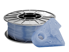 Translucent Ice Blue PRO Series PLA Filament - 1.75mm (1kg)