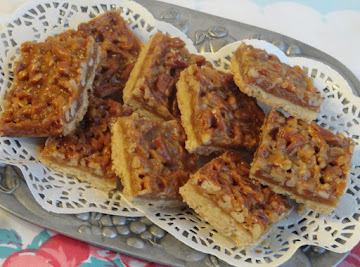 Praline Cookie Bars Recipe
