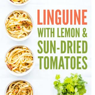 Linguine with Lemon & Sun-Dried Tomatoes Recipe