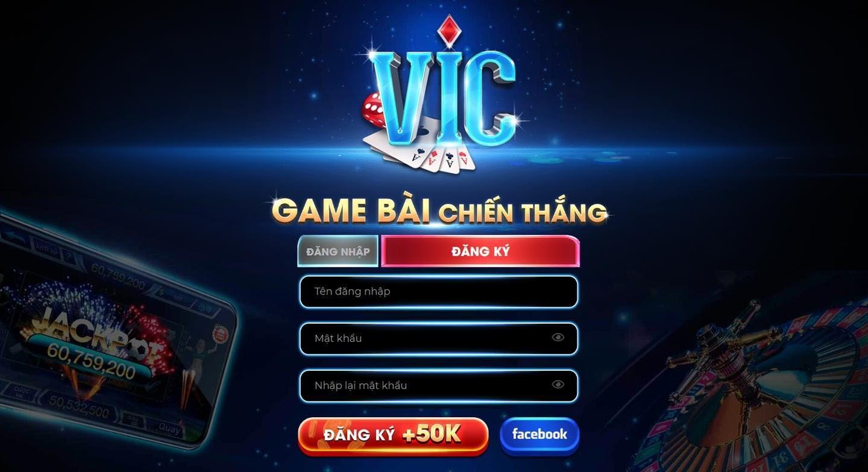 Vic là một cổng game bài đang thu hút rất nhiều người chơi tham gia