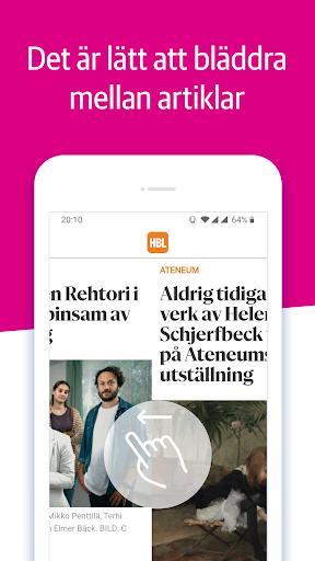 Capturas de pantalla de HBL Nyheter 4