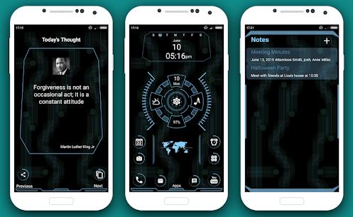 Grace full Launcher 2020 – Hitech UI homescreen 4.0 Mod Android Updated 3