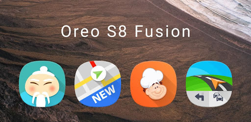 Resultado de imagen de Fusion UI - Android™ Oreo S9 Icon Pack