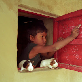 CLASSROOM by Debashis Mukherjee - People Street & Candids
