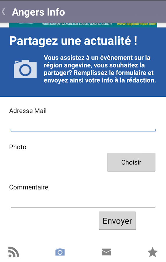 Angers Info 2.0- screenshot