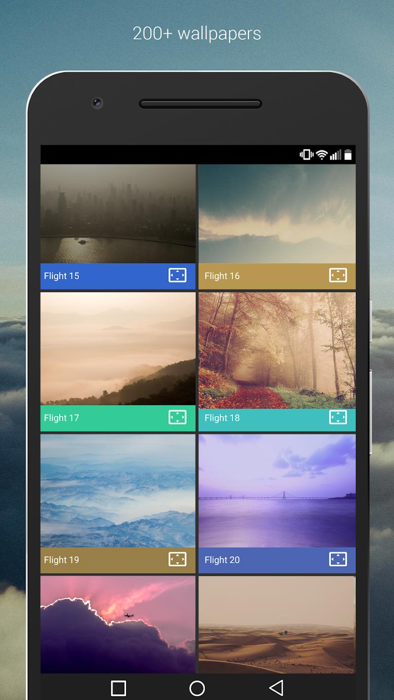 Flight - Flat Minimalist Icons (Pro Version) Screenshot 2