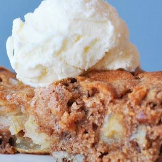 Skillet Apple Brownie