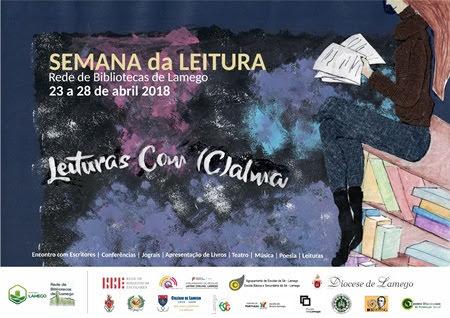 """Semana em Lamego estimula a """"Leituras Com (C)alma"""""""