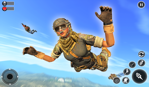 Unknown Battlegrounds Free Fire Squad : Survival 1 screenshots 11