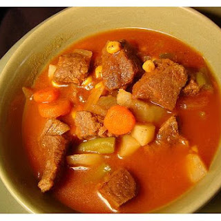 Deer Meat Stew.