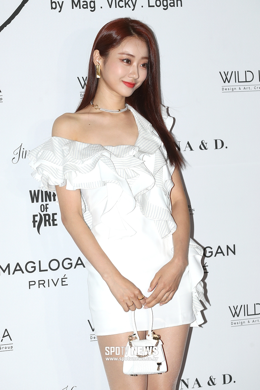 kyungri sexy white dress 6