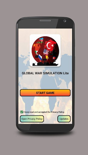 Global War Simulation WW2 Strategy War Game 1.0 screenshots 1