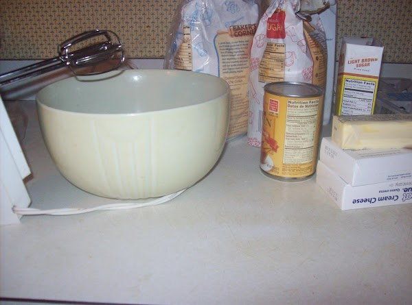Prepare Granny cake. Grease and flour two 8 X 1 ½-inch round cake pans...