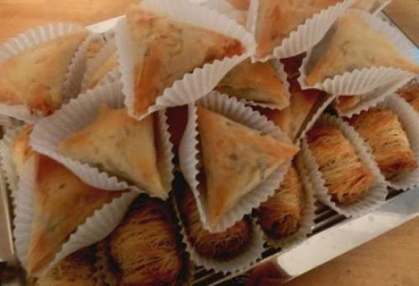 Nuts, Raisins And Shredded Coconut Pastry Recipe