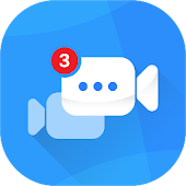 Gratis Video Calls - Online-Telefon Messaging Chat icon