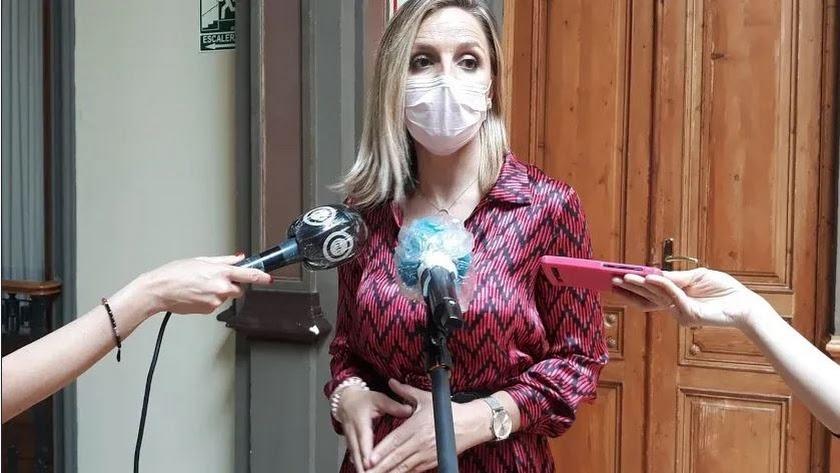 Maribel Sánchez, delegada del Gobierno andaluz en Almería.