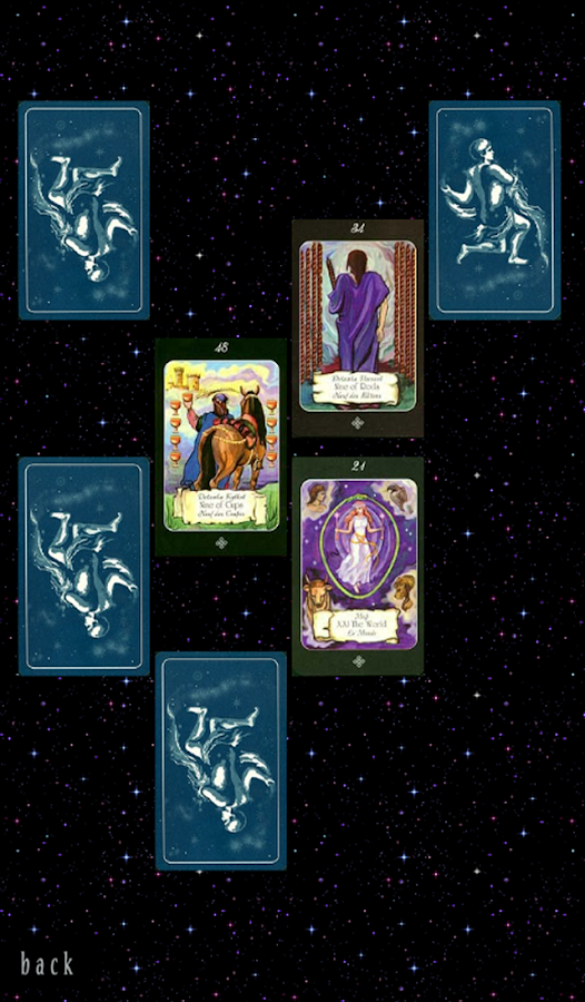 Aquarius Era Tarot- screenshot