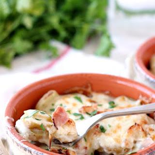 Chicken Cordon Bleu Scalloped Potatoes