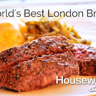 World's Best London Broil.