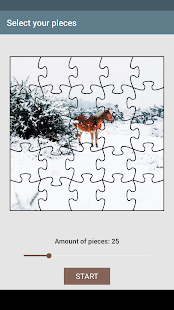 Winter puzzle - náhled
