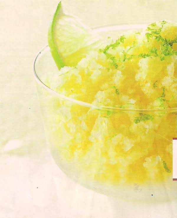 Golden Pineapple Granita Recipe
