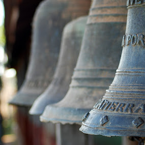 Bells of Santiago by Jason Weigner - Artistic Objects Still Life ( pwcstilllife-dq, bell, south america, bells, santiago, bolivia,  )