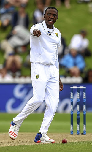 Finding balance: Kagiso Rabada is continuously mulling how much to bowl, how much to rest and how much to train. Picture: GETTY IMAGES