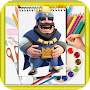 How To Draw Clash Royal APK icon