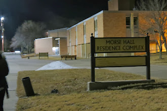 Photo: Morse Hall - first evening here