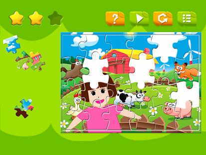Jigsaw Puzzles Dora Farm - náhled