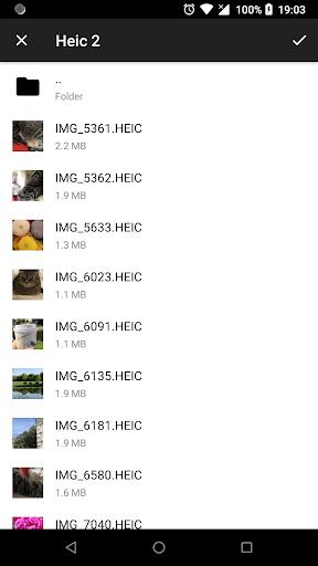 Luma: heic to jpg converter and viewer offline 3.6.6 screenshots 2