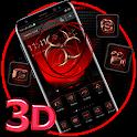 Symbol Biohazard 3D Technology Theme ☣️ icon