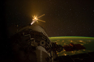 Photo: ATV-3 Approaches the Station