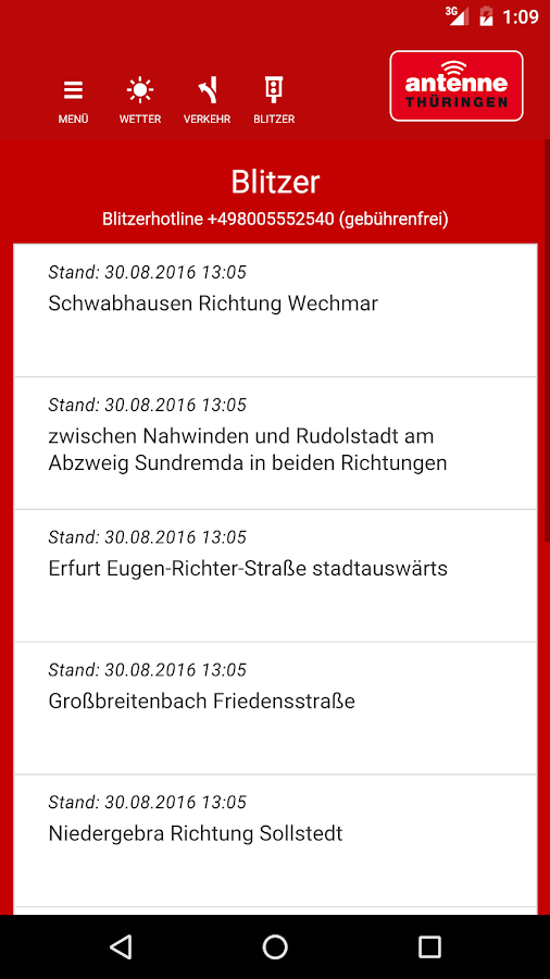 ANTENNE THÜRINGEN 4.0- screenshot